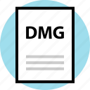 dmg, file, name, page icon