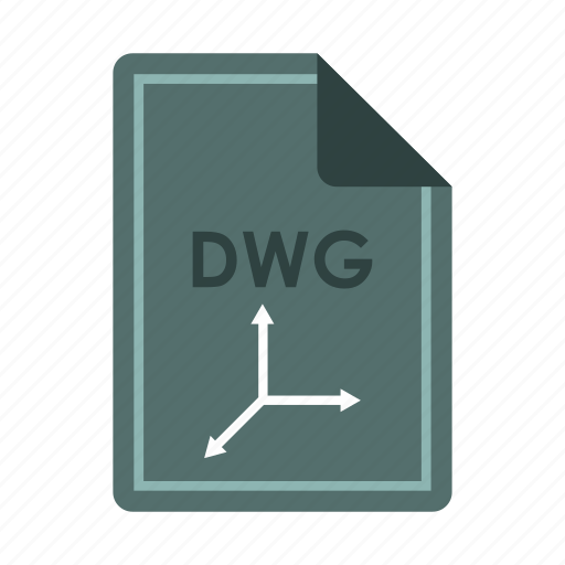 computer, concept, dwg, extension, file, format, text icon