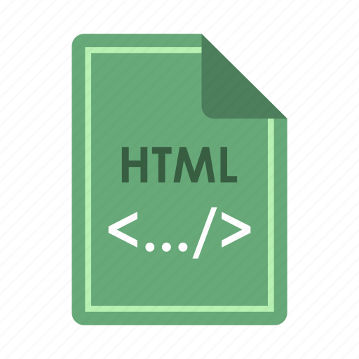 address format, extension, file, html, internet, page, text icon