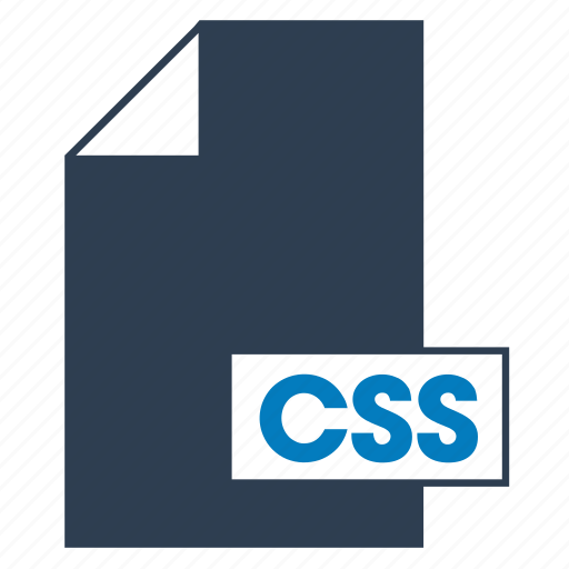 blue, css, file, format, web icon