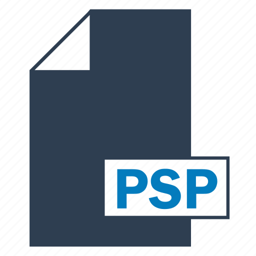 blue, file, format, psp icon