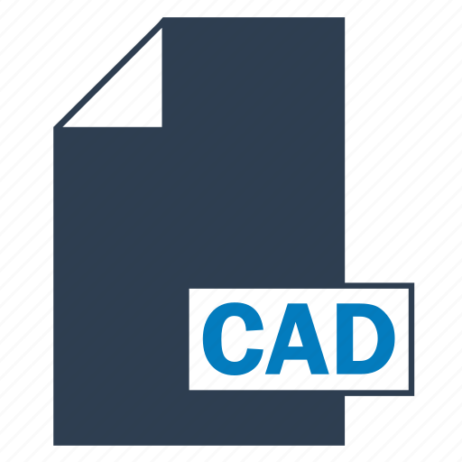blue, cad, drawing, file, format icon