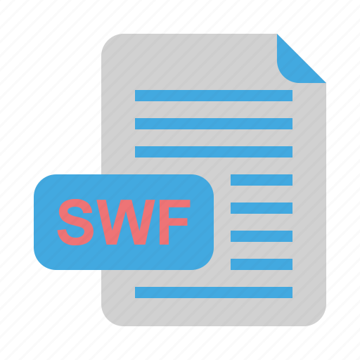 file, file format, format, swf icon