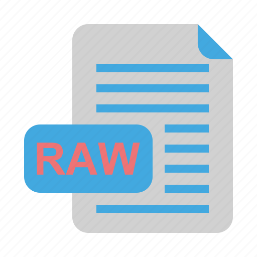 file, file format, format, raw icon