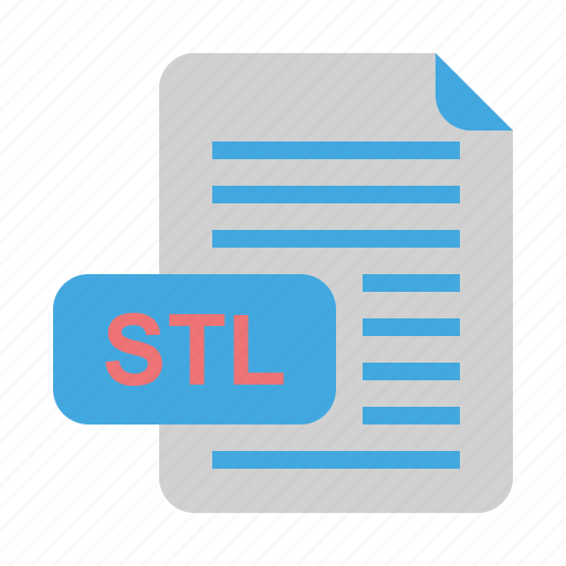 file, file format, format, stl icon