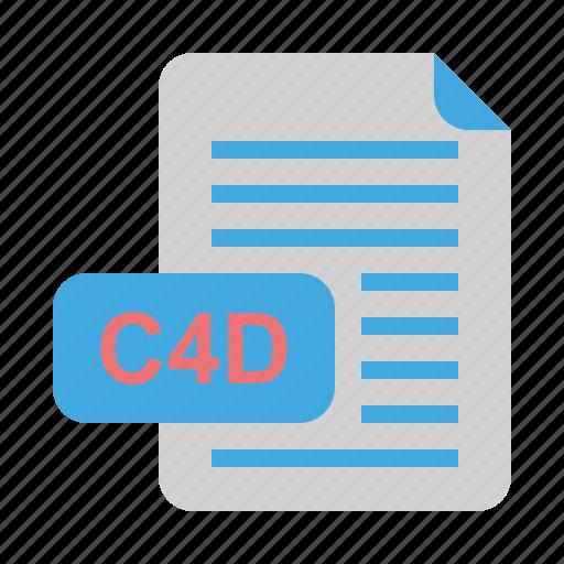 c4d, file, file format, format icon