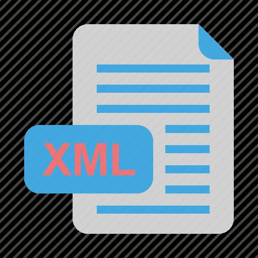 File, file format, format, xml icon - Download on Iconfinder