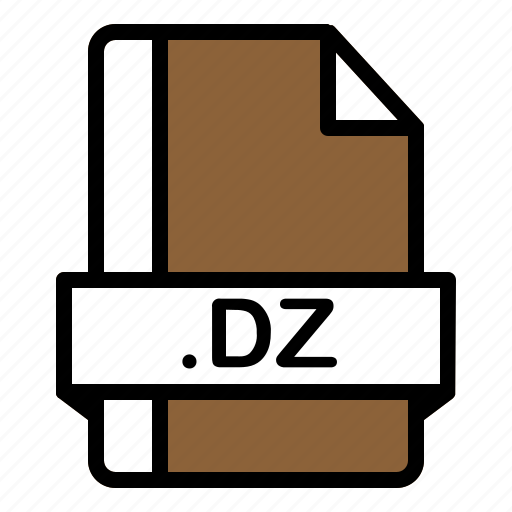 Dz, file, format, extension, document icon - Download on Iconfinder