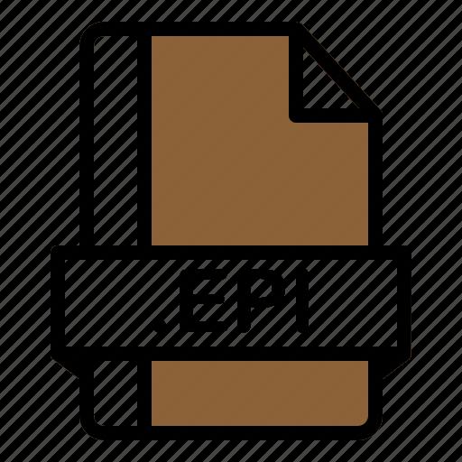 Epi, file, format, extension, document icon - Download on Iconfinder
