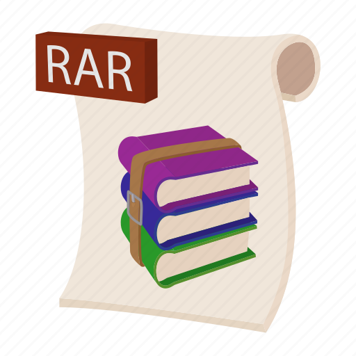 Archive, cartoon, object, page, rar, sign, web icon - Download on Iconfinder