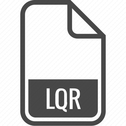 document, file, format, lqr, type icon