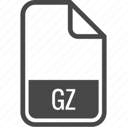 document, file, format, gz, type icon