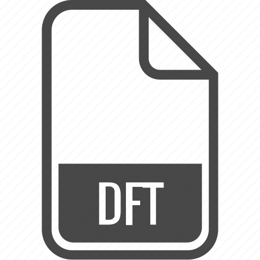 dft, document, file, format, type icon
