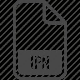 file, format, ipn, type icon