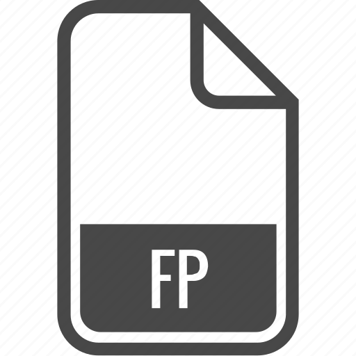 document, file, format, fp, type icon