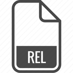 document, file, format, rel, type icon