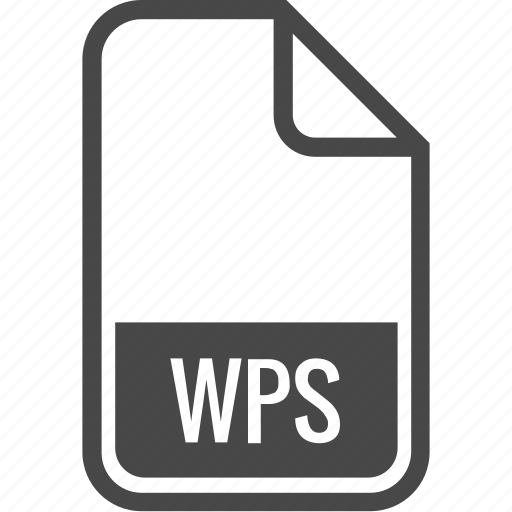 document, file, format, type, wps icon