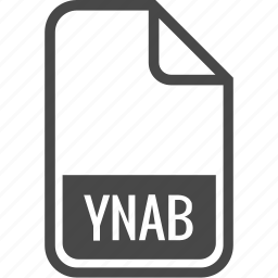 document, file, format, type, ynab icon