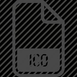 document, file, format, ico, type icon