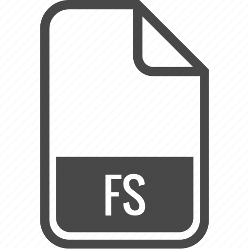 document, file, format, fs, type icon