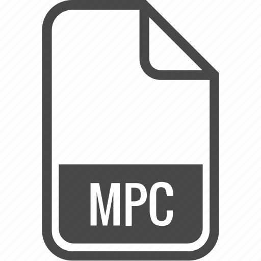document, file, format, mpc, type icon