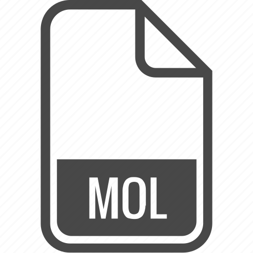 document, file, format, mol, type icon