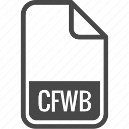 cfwb, document, file, format, type icon