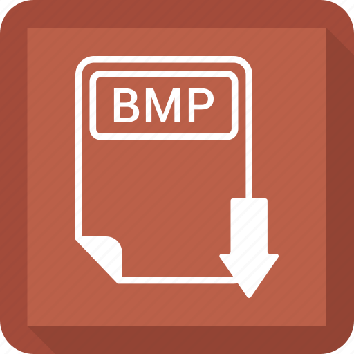 bmp, document, extension, file, format, paper, type icon