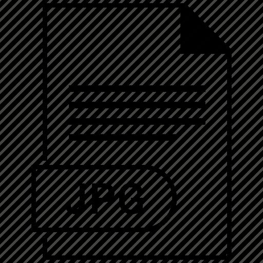 document, extension, folder, format, jpg, paper icon