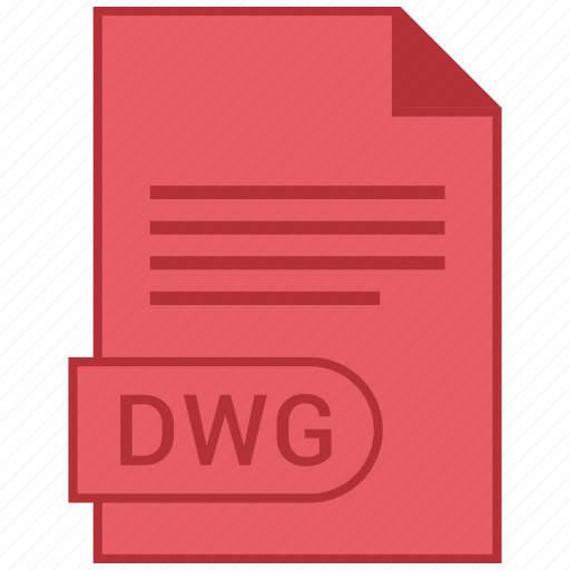 document, dwg, extension, folder, format, paper icon
