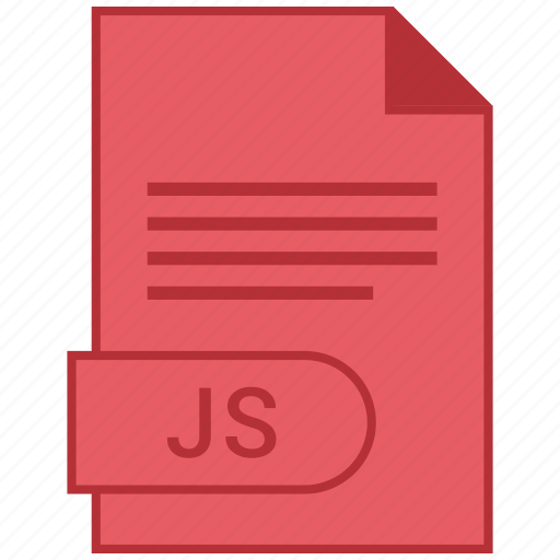 document, extension, folder, format, js, paper icon