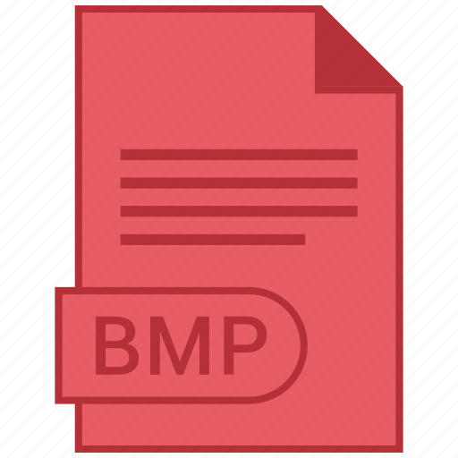 bmp, document, extension, folder, format, paper icon