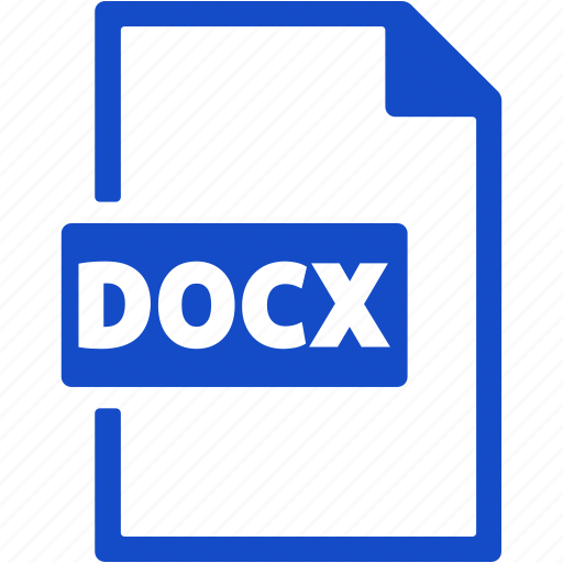Docx, file, format, document, extension icon - Download on Iconfinder