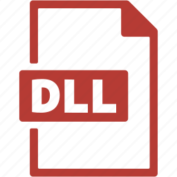 dll, document, extension, file, format icon