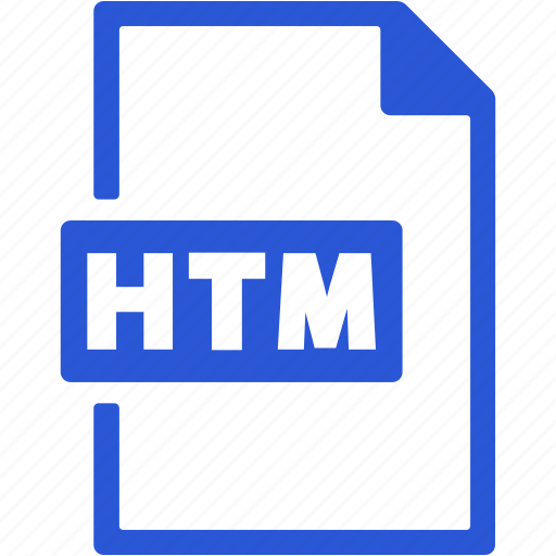 File, format, htm, document, extension icon - Download on Iconfinder