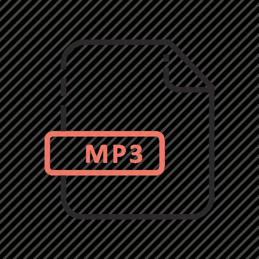 audio, file, formats, music icon