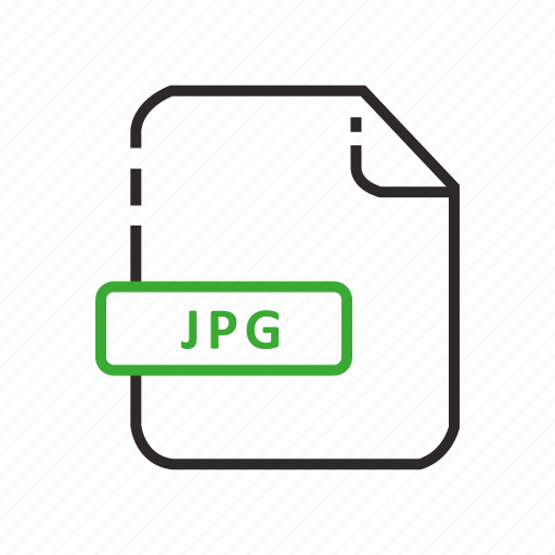 file, formats, jpeg, photo format icon