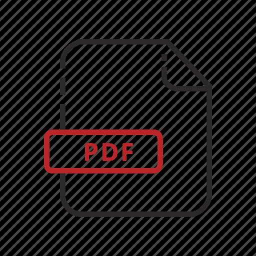 adobe, adobe reader, file, formats, portable document icon