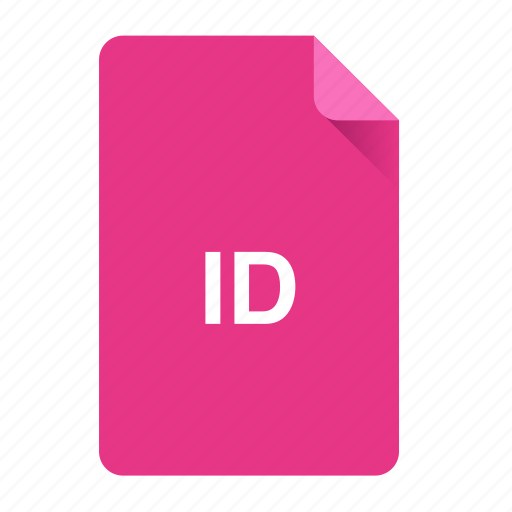 document, file, format, id, indesign icon