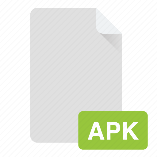 android, apk, document, file, format icon