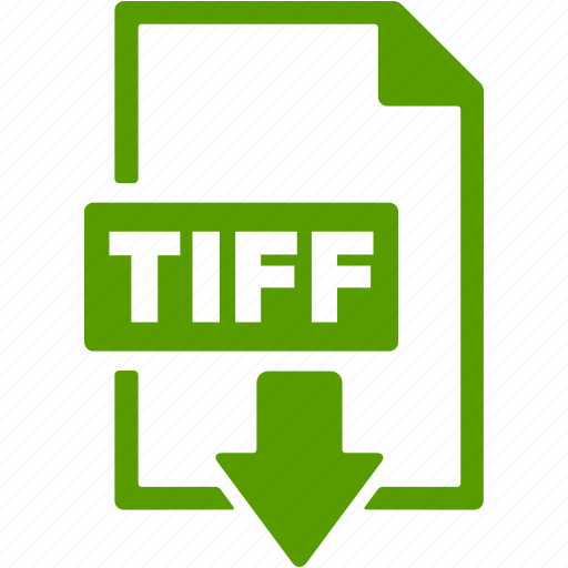 document, download, extension, file, format, tiff icon