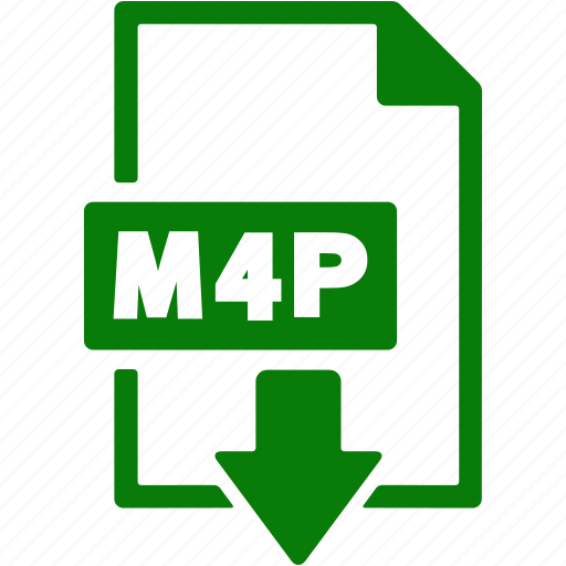 document, download, extension, file, format, m4p icon