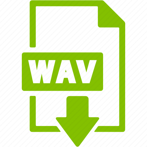 document, download, extension, file, format, wav icon