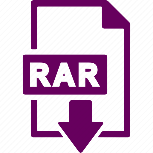 document, download, extension, file, format, rar icon