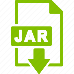 document, download, extension, file, format, jar icon
