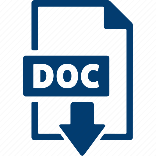 doc, document, download, extension, file, format icon