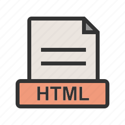 document, extension, file, htm, html, internet, pdf icon