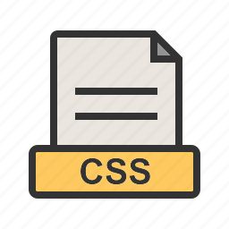 css, document, download, extension, file, format icon