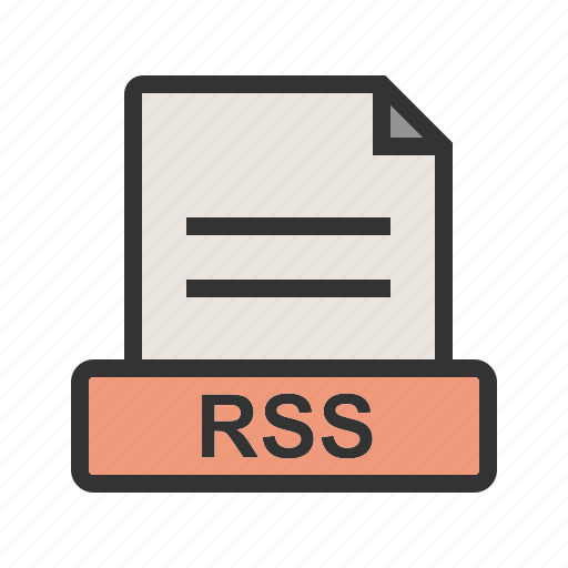 computer, file, rss, set, technology icon
