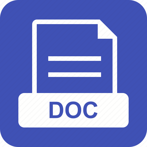 Format, doc, application, file, download, document icon